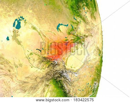 Kyrgyzstan On Planet
