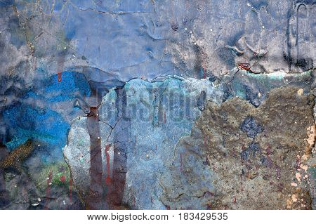 Textured Abstract Multicolor Background. Close Up.