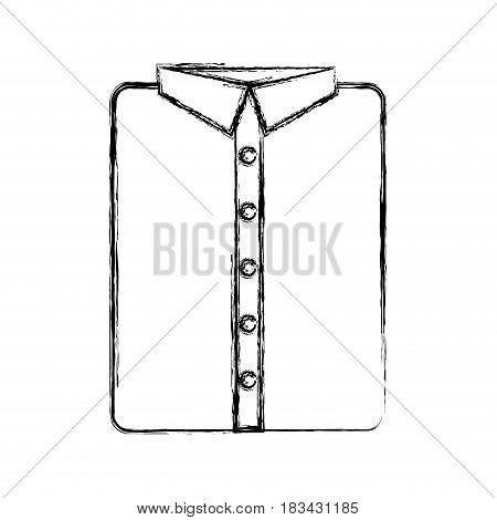 masculine shirt clothes icon vector illustration design