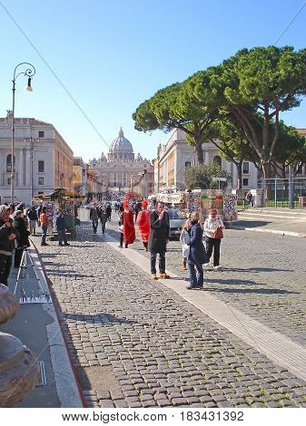 The Way To Vatican