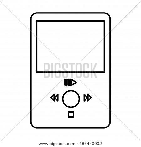 mp3 music player icon vector illustration design