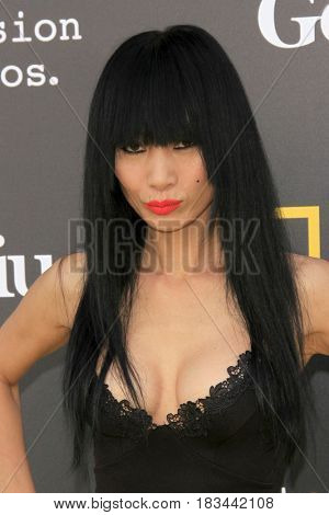 LOS ANGELES - APR 24:  Bai Ling at the National Geographic's
