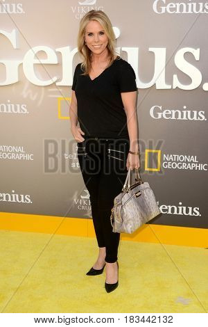 LOS ANGELES - APR 24:  Cheryl Hines at the National Geographic's