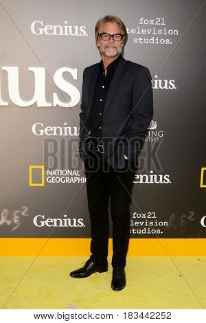 LOS ANGELES - APR 24:  Harry Hamlin at the National Geographic's