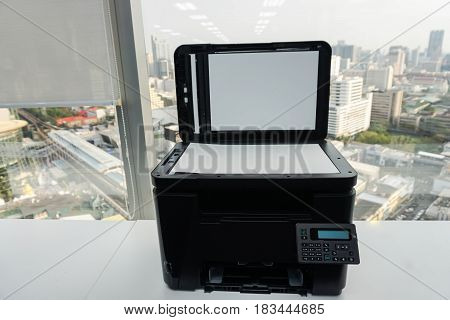 office multifunctional printer for business documenting scanning