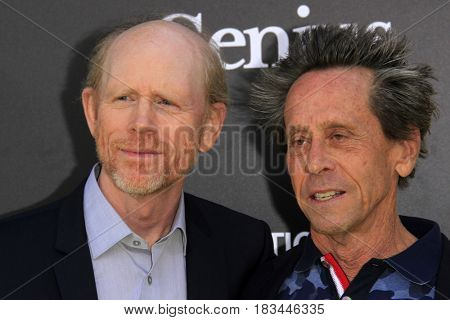 LOS ANGELES - APR 24:  Ron Howard, Brian Grazer at the National Geographic's