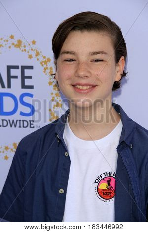 LOS ANGELES - APR 23:  Landon Gimenez at the Safe Kids Day at the Smashbox Studios on April 23, 2017 in Culver City, CA