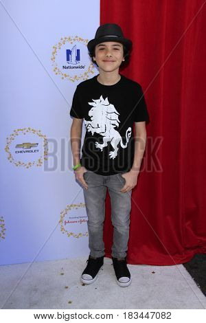 LOS ANGELES - APR 23:  Hunter Peyton at the Safe Kids Day at the Smashbox Studios on April 23, 2017 in Culver City, CA