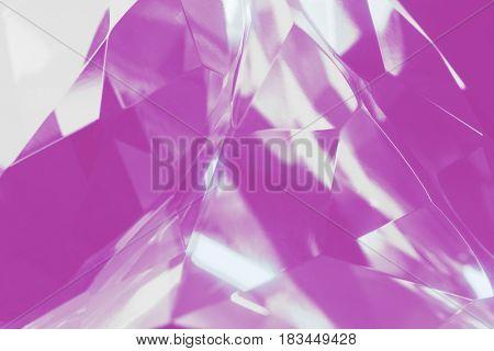 pink crystal background