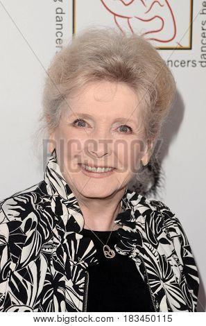LOS ANGELES - APR 23:  Millicent Martin at the Professional Dancers Society's 30th Gypsy Awards at the Beverly Hilton Hotel on April 23, 2017 in Beverly Hills, CA