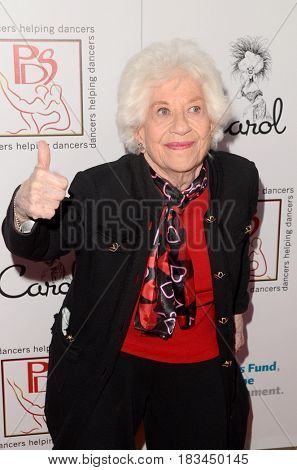 LOS ANGELES - APR 23:  Charlotte Rae at the Professional Dancers Society's 30th Gypsy Awards at the Beverly Hilton Hotel on April 23, 2017 in Beverly Hills, CA