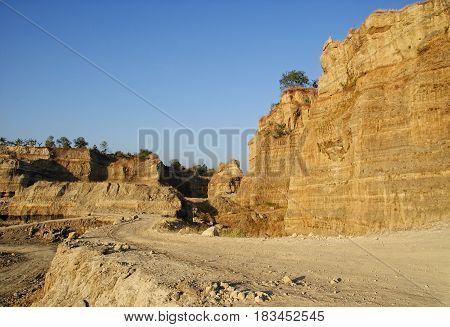 Brown Canyon wich is located in Semarang, Central Java has a beautiful views and stunning rocks formation