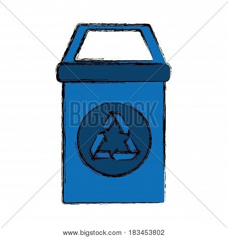 Recycle reduce and reuse icon vector illustration graphic design