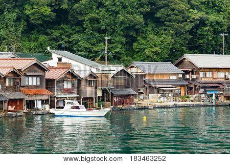 Ine-cho in Kyoto of Japan