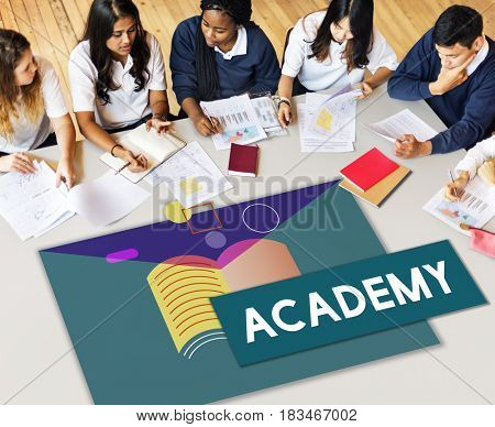 Academy Certification Curriculum Education Icon
