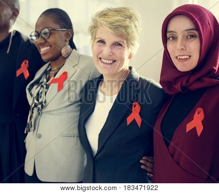 Diverse Women Together Partnership Ribbon