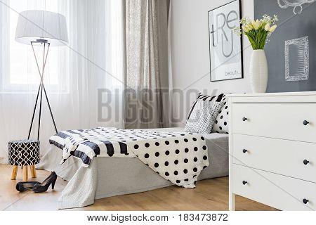 Bright Elegant Bedroom