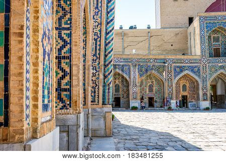 Shop Entrance, Samarkand Registan, Uzbekistan
