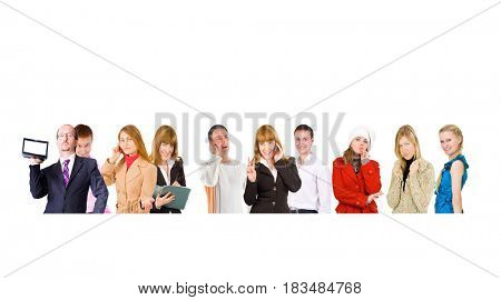 Office Faces Small Group