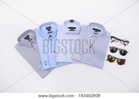 Four man shirt with sunglasses