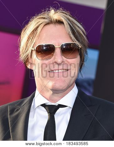 LOS ANGELES - APR 19:  Tyler Bates arrives for the