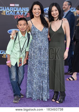 LOS ANGELES - APR 19:  Ming-Na Wen arrives for the