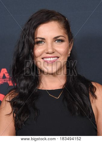 LOS ANGELES - APR 08:  Marika Dominczyk arrives to the