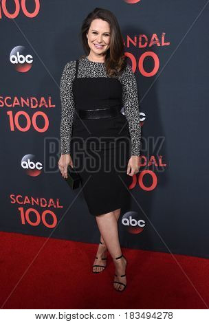 LOS ANGELES - APR 08:  Katie Lowes arrives to the