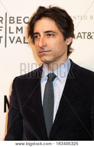 NEW YORK, NY - APRIL 24: Noah Baumbach attends the 2017 Tribeca Film Festival, Tribeca Talks: Director's Series: Noah Baumbach at BMCC Tribeca PAC on April 24, 2017 in New York City.