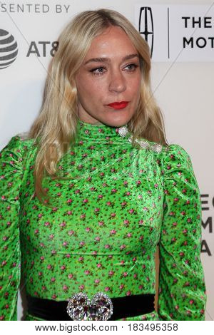 NEW YORK, NY - APRIL 24: Chloe Sevigny attends 'The Dinner' Premiere at BMCC Tribeca PAC on April 24, 2017 in New York City.