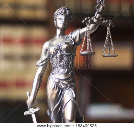 Law Office Legal Statue Themis