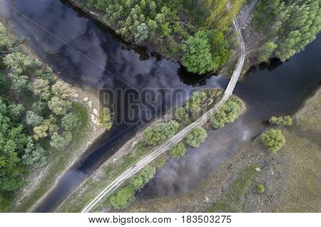 Landscape Shot From Drone