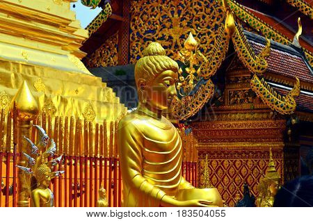 Tourist places of every state always attract photographers and tourists. The architecture of the landmark is a magnet for the knowledge of the state, the Buddhist golden altar, illuminates the world with its light, and the tourists and tourists come to th