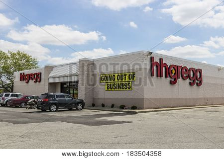 Kokomo - Circa April 2017: hhgregg location. hhgregg has announced it is filing for bankruptcy and will be closing all stores V