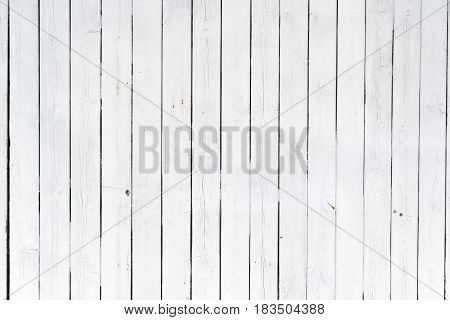 Painted wooden panels of white. Background photo texture