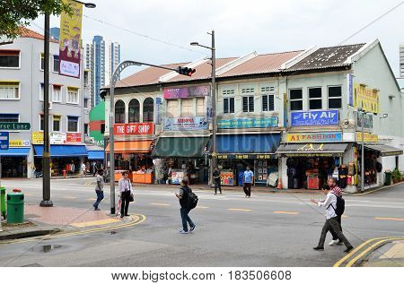 Little India Or The Indian Quarter, Singapore