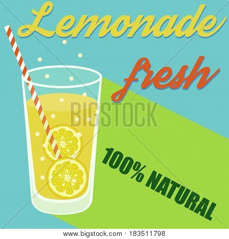 selling lemonade Vector illustration. Eps 10. lemonade juice