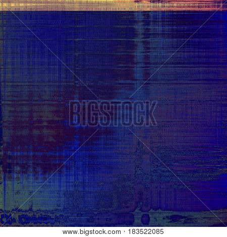 Oldest vintage background in grunge style. Ancient texture with different color patterns: yellow (beige); brown; gray; pink; red (orange); purple (violet)