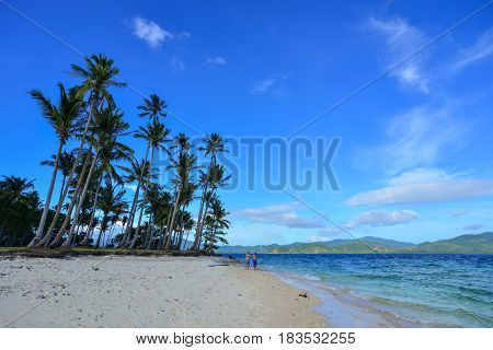 Landscape Of Tropical Sea At Sunny Day