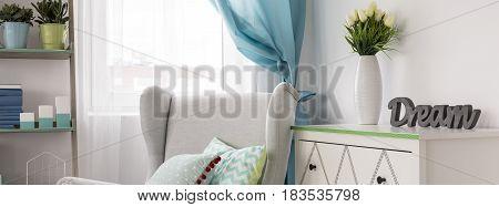 Stylish Room Idea With Wall Storage