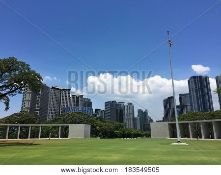 Manila American Cemetery In Philippines