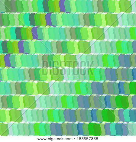 Pop art vector retro green wav background
