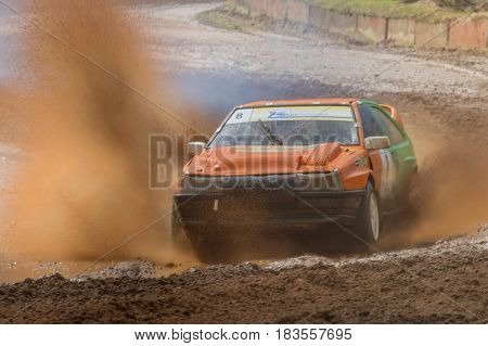 Latvian Autocross Championship Stage 3. Brengulu Racetrack On 18 June 2016