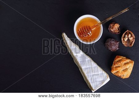 Slice Of Brie- Authentic French Cheese