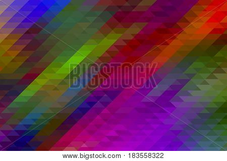 Abstract colorful background with bright colors and mosaic elements