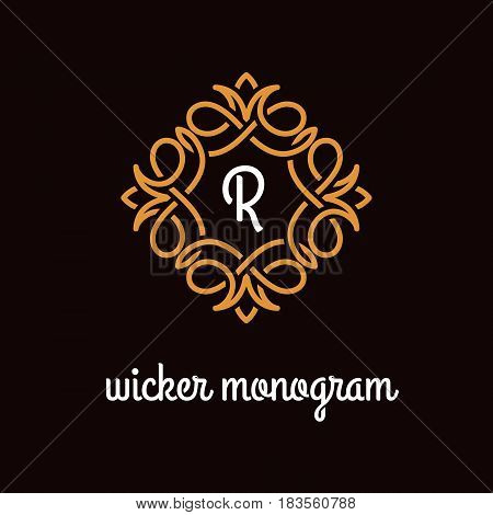 Wicker Monogram