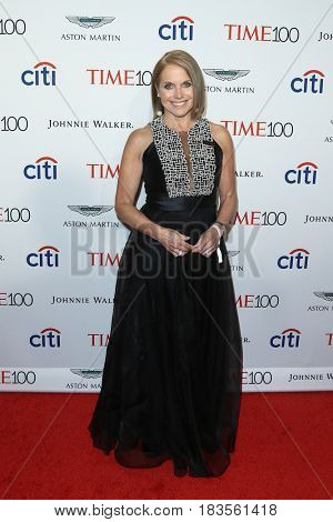 Katie Couric attends the Time 100 Gala at Frederick P. Rose Hall on April 25, 2017 in New York City.