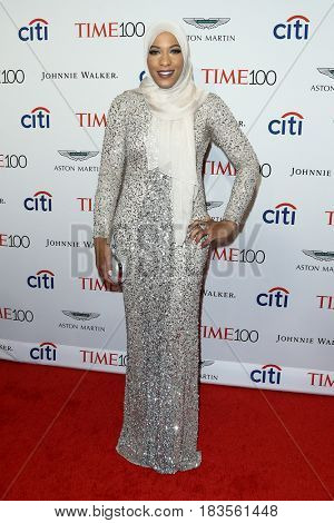 Ibtihaj Muhammad attends the Time 100 Gala at Frederick P. Rose Hall on April 25, 2017 in New York City.