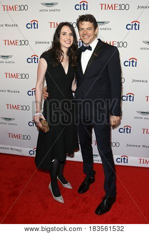 Lauren Schuker (L) and Jason Blum attend the Time 100 Gala at Frederick P. Rose Hall on April 25, 2017 in New York City.