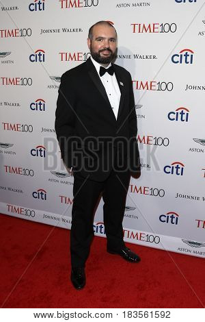 Astronomer Guillem Anglada Escude attends the Time 100 Gala at Frederick P. Rose Hall on April 25, 2017 in New York City.